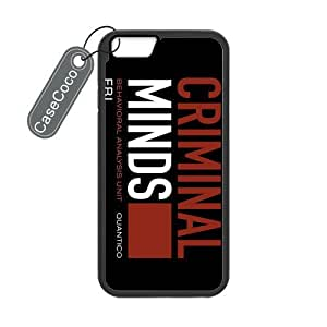 CASECOCO(TM) iPhone 6 Case, Favorite US TV Series Criminal Minds Case for iPhone 6 (4.7-inch) - Protective Hard Back / Black Rubber Sides