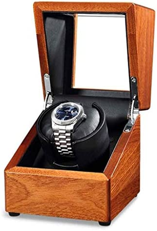 ギフトウォッチワインダーウォッチワインダー、家庭自動回転させる機械式腕時計はBoxs巻超静音シングルヘッドミニポータブルモーターボックスターンテーブル装置