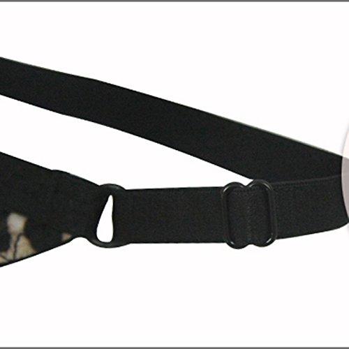 Pantalones atractivos de la tentación T de la cintura baja del leopardo ( Color : A ) B