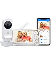 """Motorola Connect20 Wireless Video Camera - 4.3"""" Parent Unit and WiFi HD Home Monitor for Baby, Elderly, Pet – Two-Way Audio, Night Vision, Temperature Sensor, Digital Zoom"""