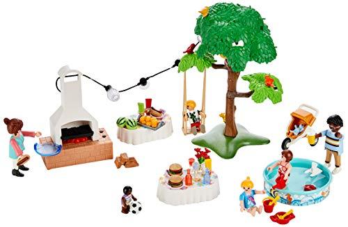 PLAYMOBIL City life 101 pc (Outdoor De Castelli Furniture)