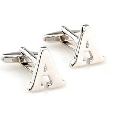 Initial Cufflinks (Alphabet Letter) by Men's Collections