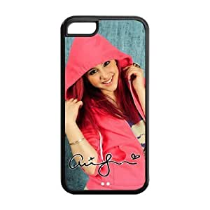 LJF phone case Customize American Famous Singer Ariana Grande Back Case for iphone 4/4s JN5C-1628