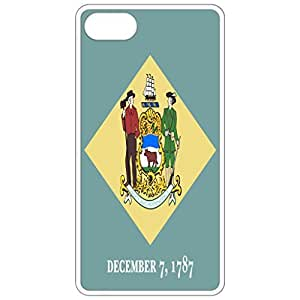 Deleware De State Flag - White Apple Iphone 5c Cell Phone Case - Cover