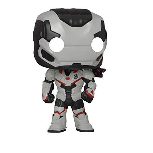 Funko Pop! Marvel: Avengers Endgame - War Machine (Team Suit) Amazon Exclusive, Multicolor