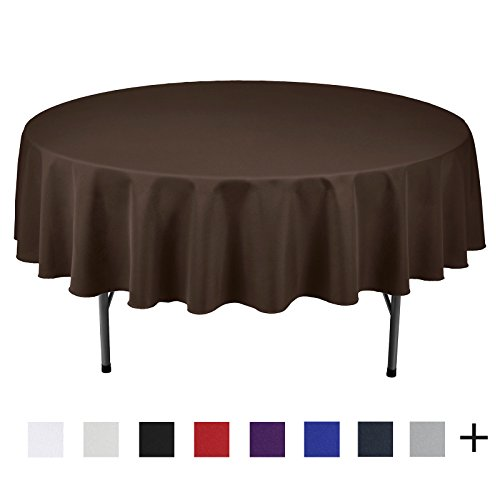 Remedios 90-inch Round Polyester Tablecloth Table Cover - Wedding Restaurant Party Banquet Decoration, - Polyester 90 Inch Tablecloth Square