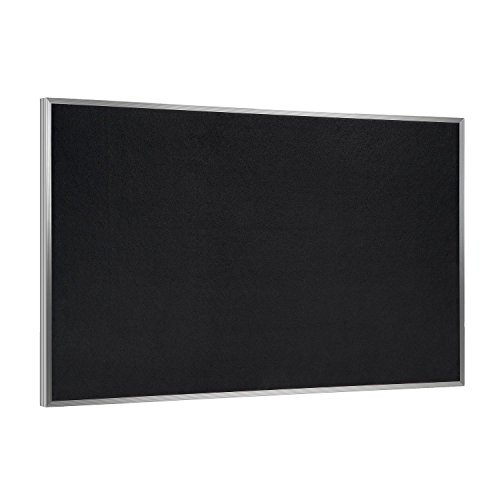 """Ghent 36.0"""" x 46.5"""" Recycled Rubber Bulletin Board, Solid..."""