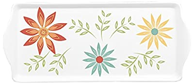 Corelle Coordinates by Reston Lloyd Melamine Serving Tray with Handles