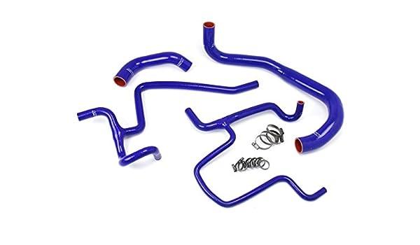 HPS Blue Silicone Radiator+Heater Hose Kit Coolant for Ford 04-11 Ranger 4.0L V6