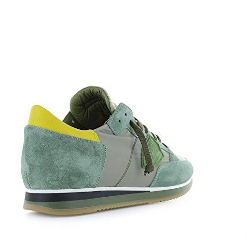 Orden Libre Del Envío Scarpe da Uomo Sneaker Tropez Mondial Verde Giallo Philppe Model Primavera Estate 2018 Barato Precio Más Bajo Línea De Alta Calidad Nueva Llegada mlsiRP