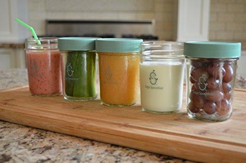 sage spoonful glass storage - 4