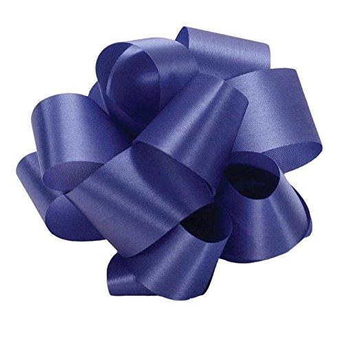Florist Ribbon - 9/16 Inch x 100 yds Acetate Satin Ribbon-royal blue
