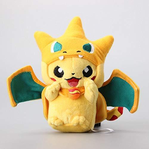 PampasSK Stuffed & Plush Animals - cm Mini Pikachu Cosplay Charmander Plush Keychains Cute Stuffed Animals Soft Toy Dolls 1 PCs