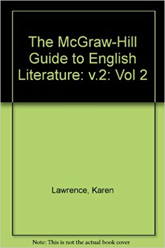 amazoncom the mcgraw hill guide to english literature william  amazoncom the mcgraw hill guide to english literature william blake to  dh lawrence  karen lawrence betsy seifter lois ratner  books