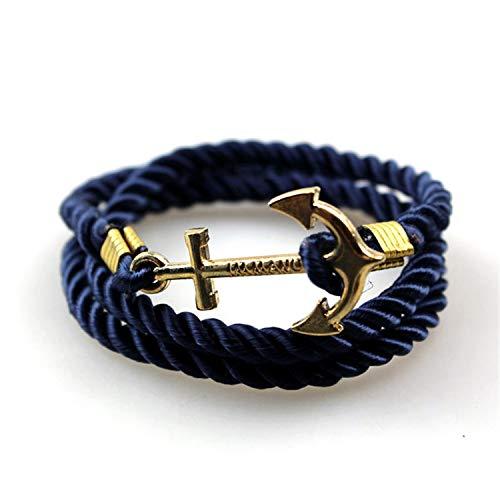 26eb7f8e7c Newly Anchor Bracelets New Arrival Vintage Retro Bracelets Fashion Jewelry  Bracelet Men For Women Best Gift Tom Hope,01