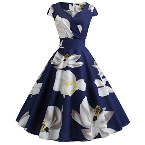 TOTOD Women Dress Plus Size Casual Elegant Short Sleeve Cold Shoulder Boho Flower Print Long Dresses