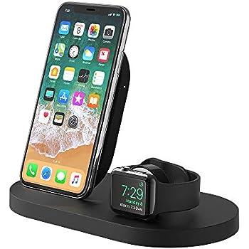 Amazon.com: Belkin PowerHouse Charging Dock for Iphone XS ...