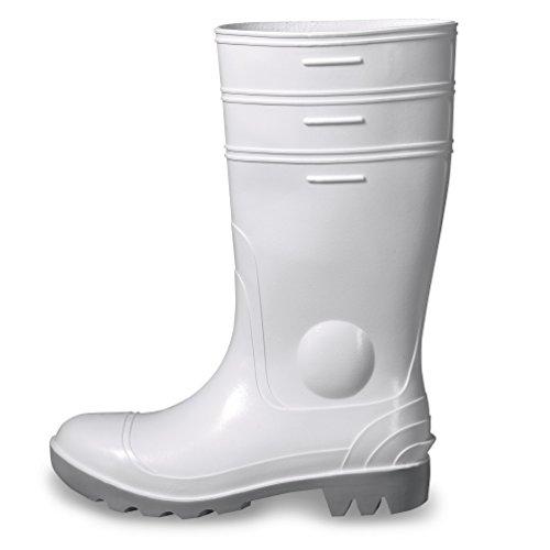 Uvex NORA Sicherheitsstiefel 9476.6 S5 SRC weiß PVC-Sohle 45 Weiß