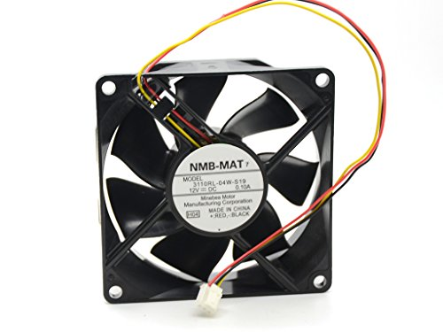 NMB-MAT 3110RL-04W-S19 8025 80mm 8cm DC 12V 0.10A quiet silent For SAMSUNG HL56A650C1FXZA HL50A650C1FXZA TH58PZ750U FAN L6FAYYYH0050 axial cooling - Fan Axial Nmb