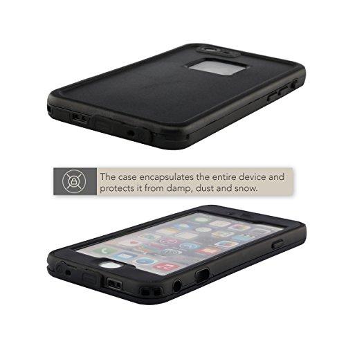 Naruba Media Wasserdichte Outdoor Handy-Hülle für iPhone 7 / 7S Plus (5,5´´) | Hard-Case | Cover | Schutzhülle mit Rundumschutz und Komplettschutz | Waterproof Schutzklasse IP-68 | für Unterwasserfoto