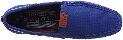 Bugatti 321469631469, Mocasines Para Hombre Azul (Light Blue/ Light Blue)