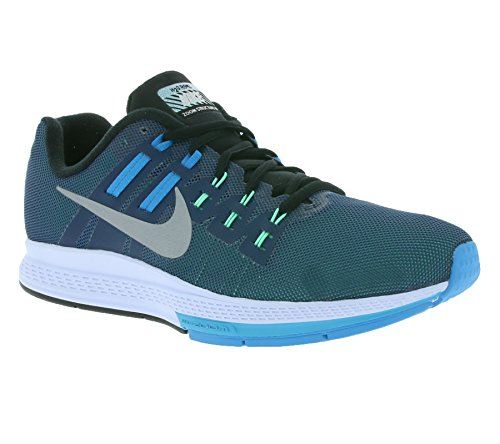 Chaussures Sqdrn Argent Homme Air Structure De Noir Nike Blanc Course bleu Pour Noir Bleu Flash Zoom 19 ZPqZfrS