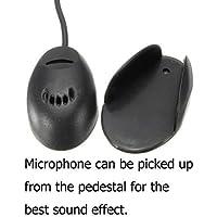 Freeauto Portable 3.5 mm micrófono externo profesional externo mic para coche Radio coche DVD