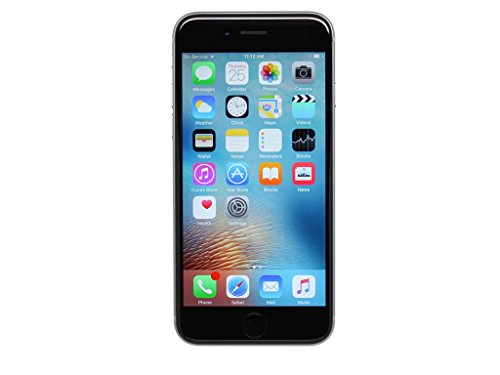 Apple iPhone 6S, 32GB, Space Gray - Fully Unlocked (Renewed)