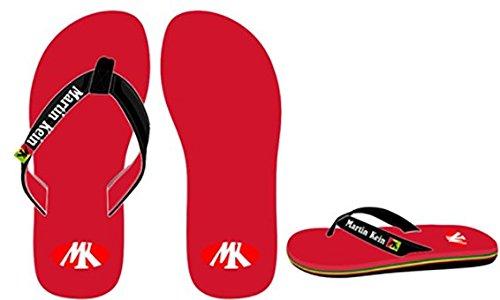 Martin kein–Strand Flip Flops ARUBA rot Größe 40