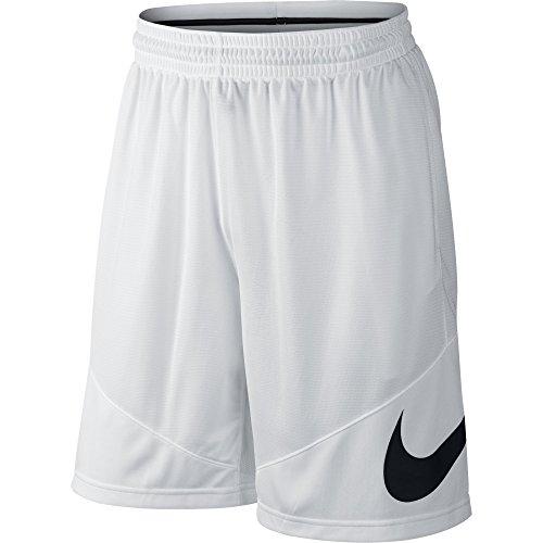 Nike Shoosh - Pantalón corto para hombre Blanco (White / White / White / Black)