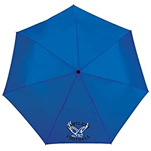 Custom 44 Inch totes¨ 3 Section Auto Open/Close Umbrella (Blue) - 150 QTY Promotional Product / Branded with Your Logo / Bulk