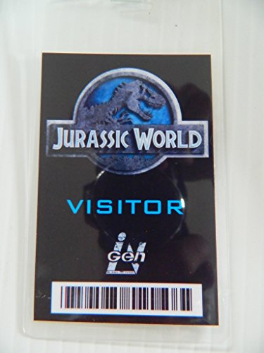 HALLOWEEN COSTUME MOVIE PROP - ID Security Badge Jurassic World (Visitor)