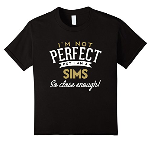 Kids Sims T-Shirt Sims Name Shirt 10 - Apparel Sims