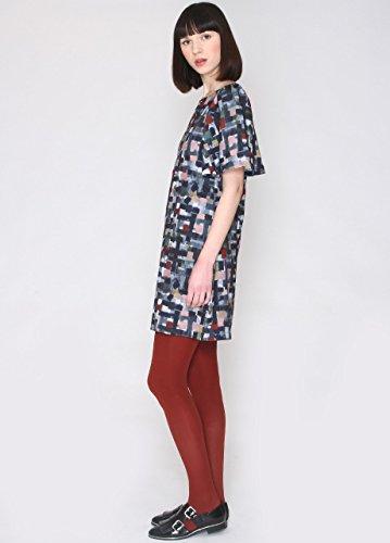 Pepaloves Damen Kleid Celina Mehrfarbig Paint Eh2BgAdmrw ...