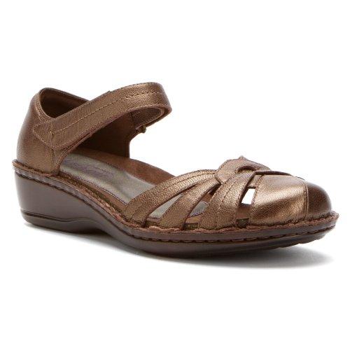 Aravon Dames Clarissa Visser Sandaal Brons