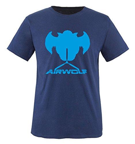 Navy Air Homme Blau Courtes Manches wolf Bleu T shirt APqA0