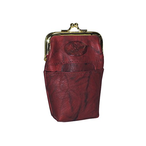 Buxton Heiress Pik-Me-Up Framed Case, burgundy