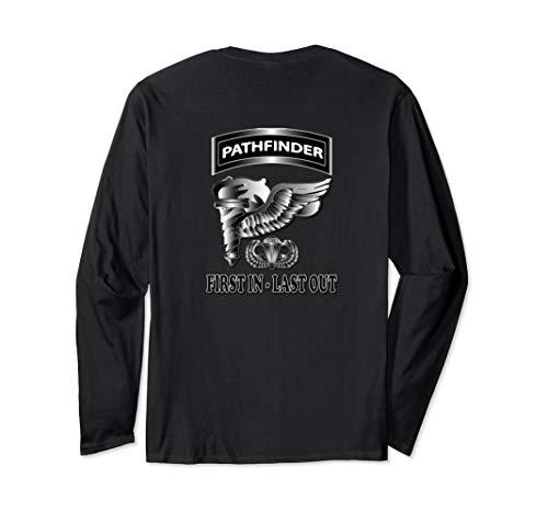 Airborne Pathfinder Long Sleeve T-Shirt (Back Design) ()