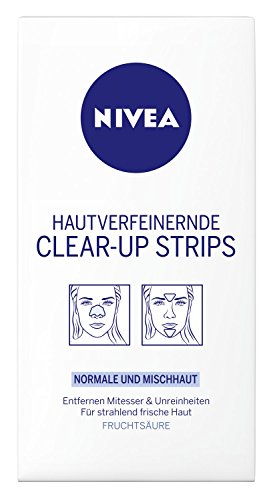 Nivea Visage Hautverfeinerndes Clear Up Strips 6 strips by N