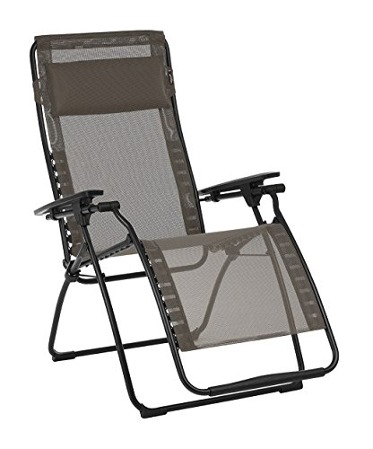 Cheap Lafuma LFM3118-7660 Futura Zero Gravity Recliner-Black Steel Frame, Graphite Batyline Fabric