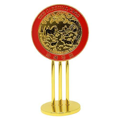 Feng Shui Cardinal Dinal Cross Mirror ()