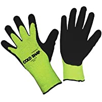 Cold Snap, Premium 7-Gauge Green Coated Gloves (QTY/12) Large 3999-L by Cordova