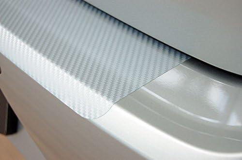 WGS Ladekantenschutz Sto/ßstangenschutz Lackschutzfolie Schutzfolie Lackschutz Carbon Silber 3D 160/µm 2123-102