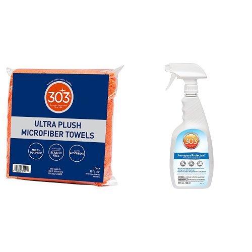 Microfiber Towel Kit: 303 Products 16x16 Ultra Plush Microfiber Towel All