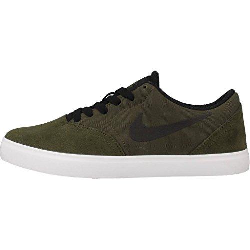 Nike Sb Check (Gs), Zapatillas de Skateboarding Hombre Marrón (Cargo Khaki / Black)