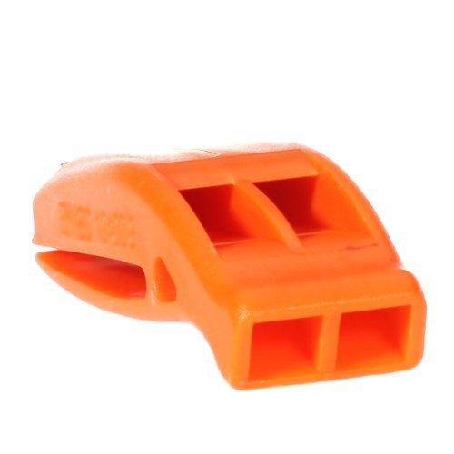 Fligatto Outdoor Survival double Frequency Bright Orange Safety Whistle fischietto di emergenza