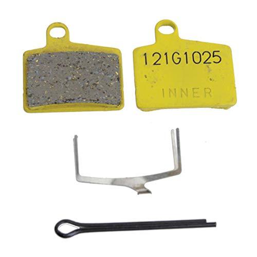 Hayes Semi-Metallic Mountain Bicycle Disc Brake Pads - Pair (Comp Semi-Metallic - Vesrah T121) (Brake Disc Hayes Parts)