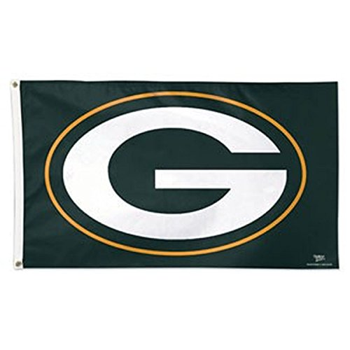 WinCraft NFL Green Bay Packers 01751215 Deluxe Flag, 3' x 5']()