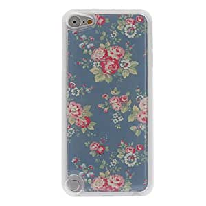 ZCL Charming and Delicate Rose Pattern Epoxy Hard Case for iPod Touch 5