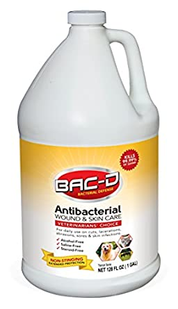 Amazon com: BAC-D 632 Animal Wound and Skin Care, 1 gal
